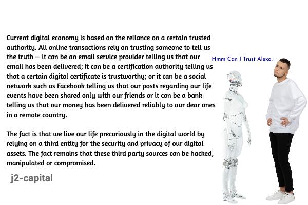 Blockchain technology distributed consensus